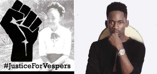 Nigerian Artist – Mr. Eazi Throws His Hat Joins UNZA Protests/Mourning In #Hashtags #Justice4vespers