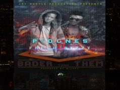 "P - Dones & Fresh Bizzy - ""Bader Than Them""(Prod. By M-Jucy)"