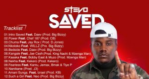 "Stevo - ""SAVED"" [Album Track-List]"